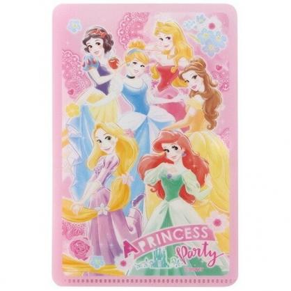 小禮堂 迪士尼 公主 兒童扣式口罩夾 面紙包 口罩包 口罩套 口罩收納 (粉 玫瑰)