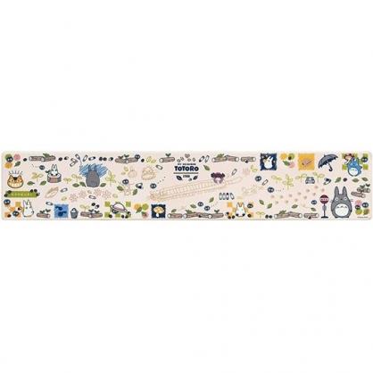 小禮堂 龍貓 長方形矽膠地墊 軟墊 腳踏墊 遊戲墊 抗菌防臭 45x240cm (米 站牌)