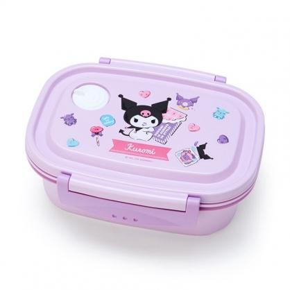 小禮堂 酷洛米 日製 輕量型微波便當盒 塑膠便當盒 保鮮盒 550ml (紫 巧克力)