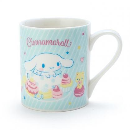 小禮堂 大耳狗 陶瓷馬克杯 咖啡杯 茶杯 陶瓷杯 230ml (藍白 甜點)