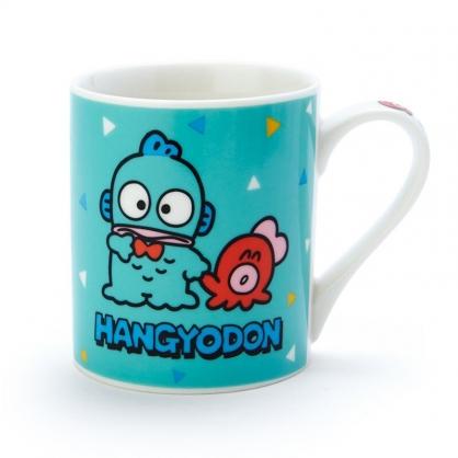 小禮堂 人魚漢頓 陶瓷馬克杯 咖啡杯 茶杯 陶瓷杯 230ml (綠橘 朋友)