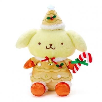 小禮堂 布丁狗 沙包玩偶 絨毛玩偶 聖誕娃娃 小型玩偶 布偶 (黃 2020聖誕節)