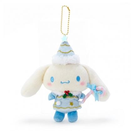 小禮堂 大耳狗 絨毛吊飾 玩偶吊飾 聖誕吊飾 玩偶鑰匙圈 (藍 2020聖誕節)