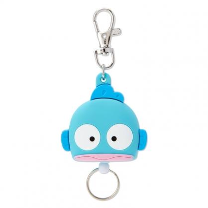 小禮堂 人魚漢頓 造型矽膠伸縮鑰匙圈 易拉扣鑰匙圈 玩偶鑰匙圈 (綠 大臉)