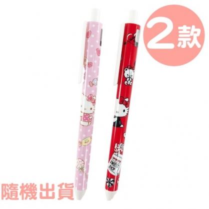 小禮堂 Hello Kitty 原子筆 藍筆 自動筆 0.5mm (2款隨機)