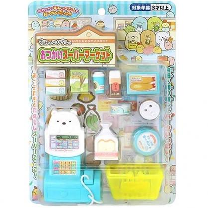 小禮堂 角落生物 超市收銀機玩具 購物玩具 益智玩具 扮家家酒 (藍 購物)