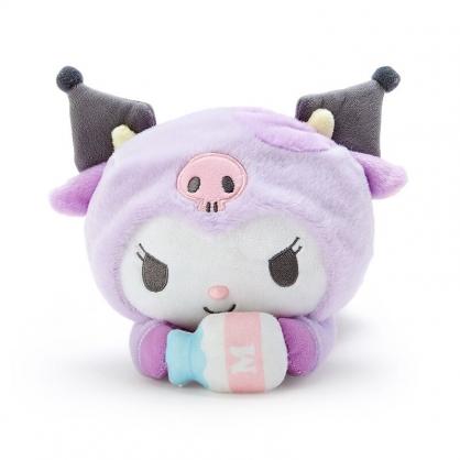 小禮堂 酷洛米 絨毛玩偶 牛年娃娃 生肖娃娃 小型玩偶 (紫 牛牛新年企劃)