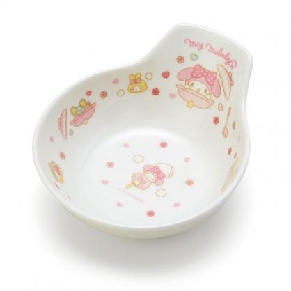 小禮堂 美樂蒂 造型陶瓷碗 湯碗 飯碗 火鍋碗 (粉 陶器餐廚)