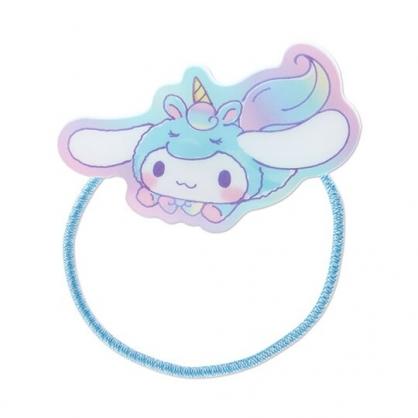 小禮堂 大耳狗 造型壓克力彈力髮圈 塑膠髮圈 造型髮圈 手環 (藍 糖果獨角獸)