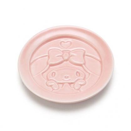 小禮堂 美樂蒂 圓形陶瓷醬料盤 醬油碟 小菜碟 小碟 (粉 陶器餐廚)