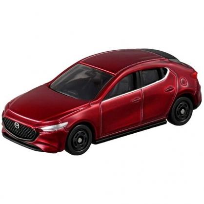 小禮堂 TOMICA多美小汽車 MAZDA3 經典轎車 玩具車 模型車 (46 紅)