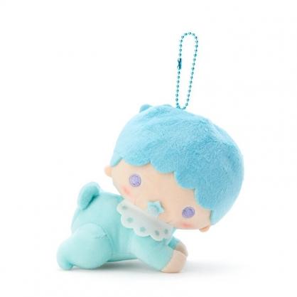 小禮堂 雙子星 Kiki 絨毛吊飾 玩偶吊飾 玩偶鑰匙圈 包包吊飾 (綠 45週年)