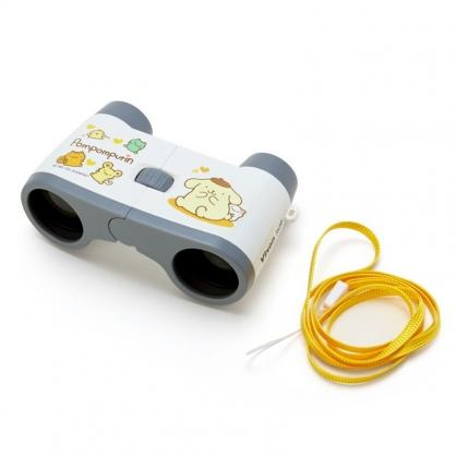 小禮堂 布丁狗 雙筒望遠鏡 附頸掛繩 觀賽望遠鏡 天文望遠鏡 Vixen (黃)
