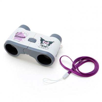 小禮堂 酷洛米 雙筒望遠鏡 附頸掛繩 觀賽望遠鏡 天文望遠鏡 Vixen (紫)
