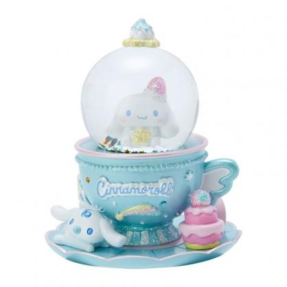 小禮堂 大耳狗 迷你造型聖誕雪球 聖誕水晶球 玻璃雪球 雪花球 (藍 2020聖誕節)