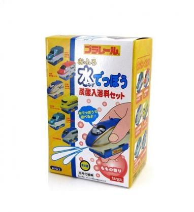 小禮堂 鐵道王國 入浴球 入浴劑 泡澡球 沐浴球 (6款隨機 黃盒裝)