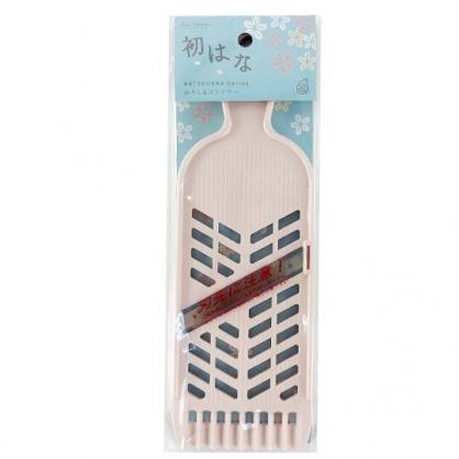 小禮堂 貝印 日製 長方形不鏽鋼刨絲器 切片器 磨泥器 切模 刨刀 (粉)