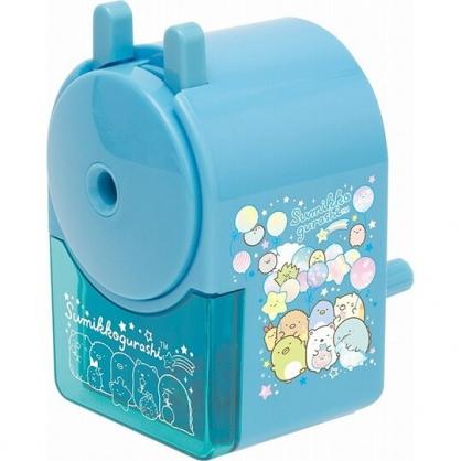 小禮堂 角落生物 手動式削鉛筆機 削鉛筆器 削筆機 筆削 (藍 汽球)