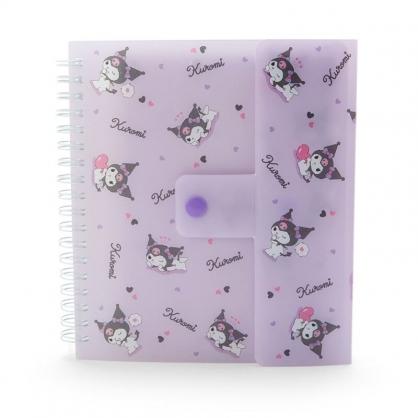 小禮堂 酷洛米 線圈相片收納本資料夾 桌曆相簿 檔案夾 文件夾 (紫 演唱會粉絲收納)