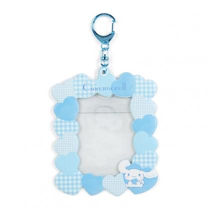 小禮堂 大耳狗 造型拍立得收納套鑰匙圈 票卡夾 車票夾 證件夾 (藍 演唱會粉絲收納)