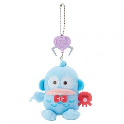 小禮堂 人魚漢頓 絨毛吊飾 玩偶吊飾 玩偶鑰匙圈 包包吊飾 (藍 遊戲街)