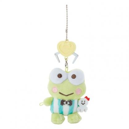 小禮堂 大眼蛙 絨毛吊飾 玩偶吊飾 玩偶鑰匙圈 包包吊飾 (綠 遊戲街)