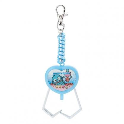 小禮堂 人魚漢頓 夾子造型塑膠鑰匙圈 玩具鑰匙圈 玩具吊飾 (藍 遊戲街)
