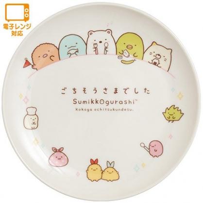 小禮堂 角落生物 陶瓷圓盤 沙拉盤 點心盤 水果盤 淺盤 (白 餐桌)