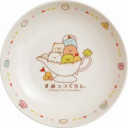 小禮堂 角落生物 陶瓷圓盤 咖哩盤 燴飯盤 點心盤 深盤 (白 醬料盅)