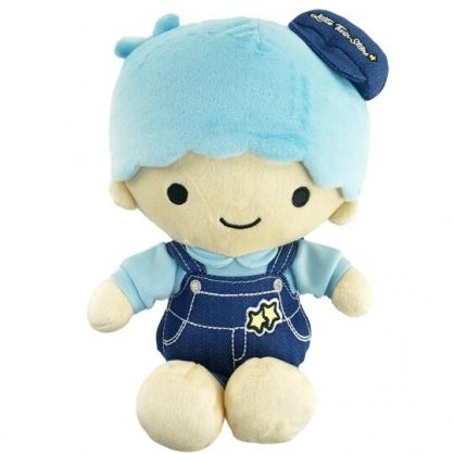 小禮堂 雙子星KIKI 8吋絨毛玩偶 絨毛娃娃 小型玩偶 布偶 (S 牛仔裝)