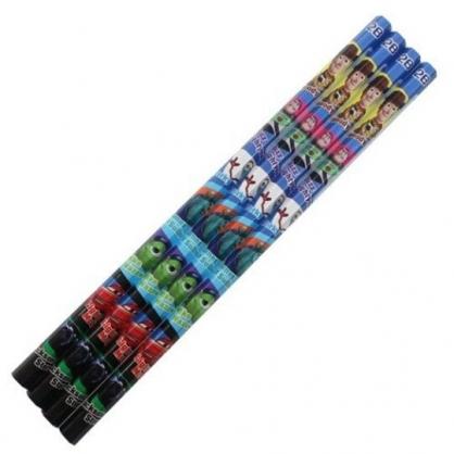 小禮堂 迪士尼 皮克斯 日製 六角鉛筆組 2B鉛筆 木鉛筆 (4入 深藍 介紹)