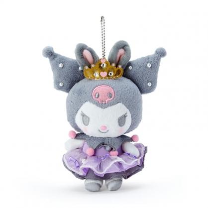 小禮堂 酷洛米 絨毛吊飾 玩偶吊飾 玩偶鑰匙圈 包包吊飾 (紫 芭蕾劇場)