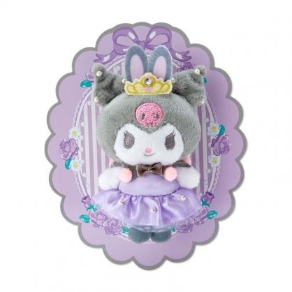 小禮堂 酷洛米 絨毛玩偶胸針 玩偶別針 造型胸章 徽章 (紫 芭蕾劇場)