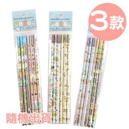 小禮堂 角落生物 三角鉛筆組 HB鉛筆 木鉛筆 (3款隨機)