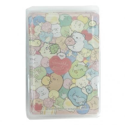 小禮堂 角落生物 盒裝撲克牌 撲克牌玩具 紙牌遊戲 桌遊 (紅 玩偶)