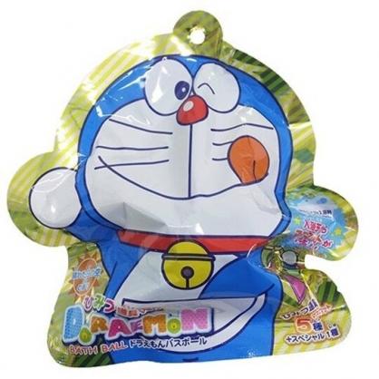 小禮堂 哆啦A夢 入浴球 入浴劑 泡澡球 沐浴球  (6款隨機 藍 吐舌)