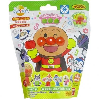 小禮堂 麵包超人 入浴球 入浴劑 泡澡球 沐浴球  (6款隨機 綠 蘋果)