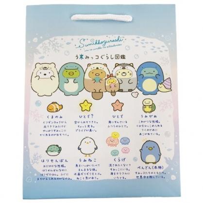 小禮堂 角落生物 直式方形手提紙袋 禮物紙袋 包裝紙袋 禮品袋 (藍 變裝)