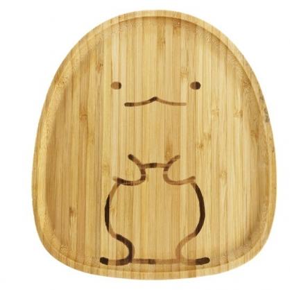 小禮堂 角落生物 造型木質盤 早餐盤 點心盤 水果盤 麵包盤 木托盤 (棕 恐龍)