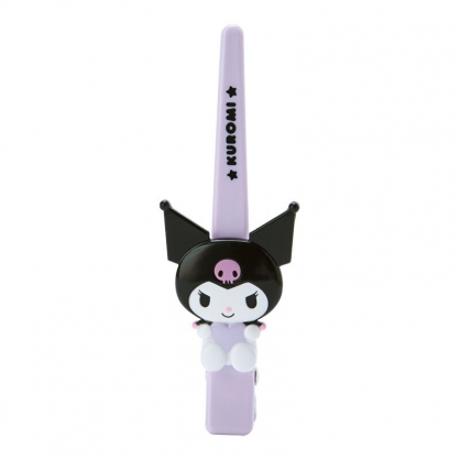 小禮堂 酷洛米 造型塑膠長髮夾 鴨嘴夾 瀏海夾 馬尾夾 大髮夾 (紫 玩偶)