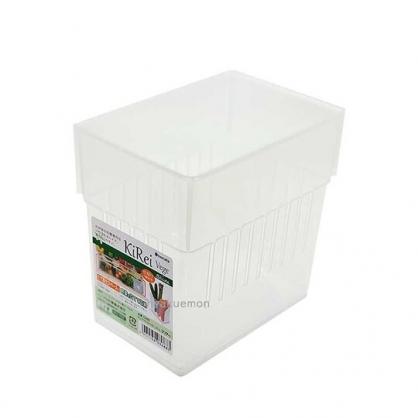 小禮堂 Inomata 日製 冰箱分格收納盒 冰箱整理盒 蔬果盒 保鮮盒 (透明)