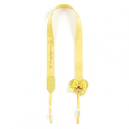 小禮堂 布丁狗 日製 緞面望遠鏡背帶 相機背帶 多功能背帶 頸掛繩 (黃 演唱會粉絲收納)