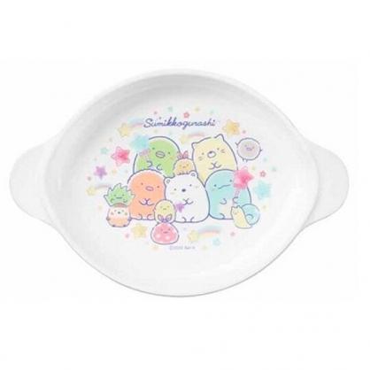 小禮堂 角落生物 日製 雙耳美耐皿碗 塑膠碗 兒童碗 微波碗 飯碗 (白 糖果)