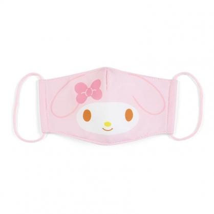 小禮堂 美樂蒂 成人布口罩 平面口罩 純棉口罩 防塵口罩 可水洗 (粉 防疫對策)