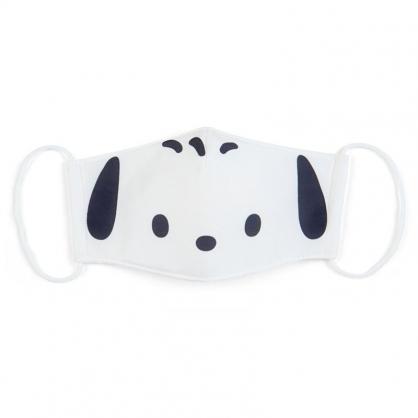 小禮堂 帕恰狗 成人布口罩 平面口罩 純棉口罩 防塵口罩 可水洗 (白 防疫對策)