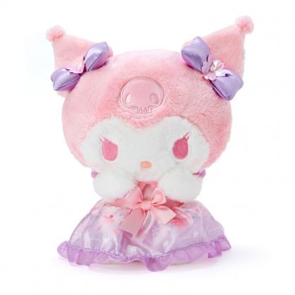 小禮堂 酷洛米 沙包絨毛玩偶 沙包娃娃 櫻花玩偶 小型玩偶 布偶 (紫 大和櫻花)