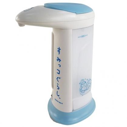 小禮堂 角落生物 感應式酒精噴霧機 乾洗手機 手部消毒機 皂液機 (藍)