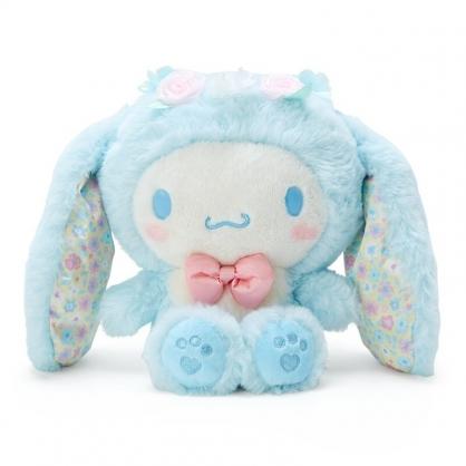 小禮堂 大耳狗 沙包絨毛玩偶 兔耳玩偶 沙包娃娃 小玩偶 布偶 (藍 2021復活節)