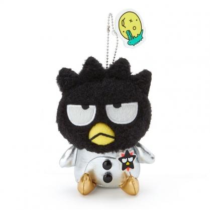 小禮堂 酷企鵝 絨毛吊飾 玩偶吊飾 玩偶鑰匙圈 包包吊飾 (黑 生日宇宙)