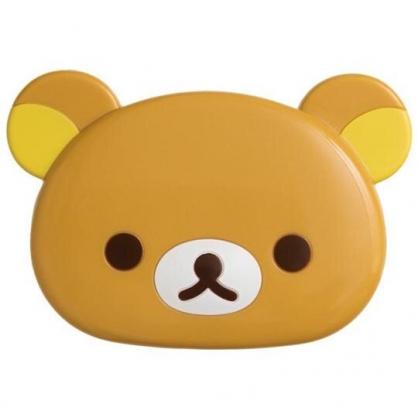 小禮堂 懶懶熊 造型折疊鏡梳組 隨身鏡 隨身梳 立鏡 扁梳 (棕 大臉)
